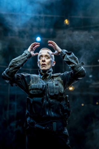 Lucy Ellison as Macbeth